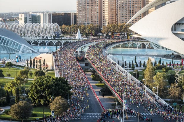 salida maraton valencia