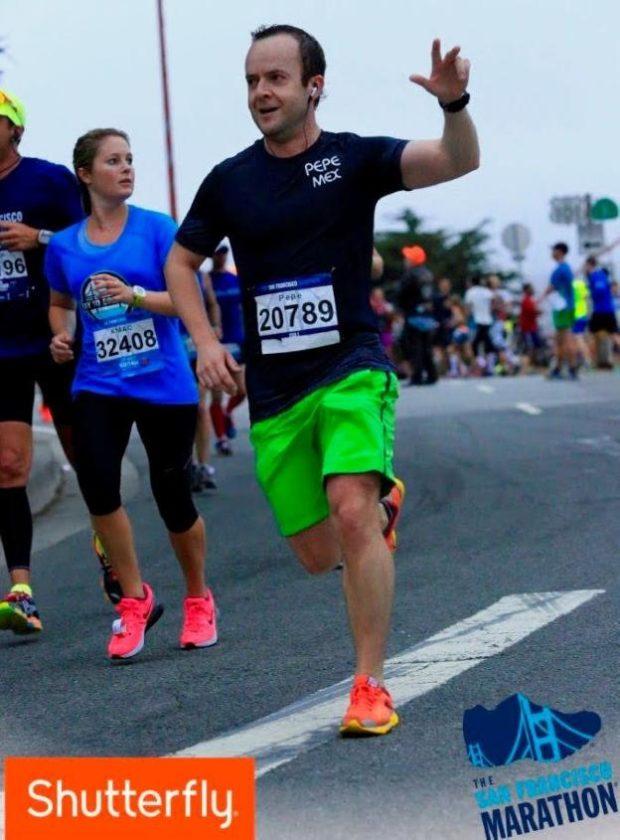José, de Ciudad de México a Valencia a por su 29º maratón