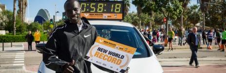 Kiptum Medio Maratón