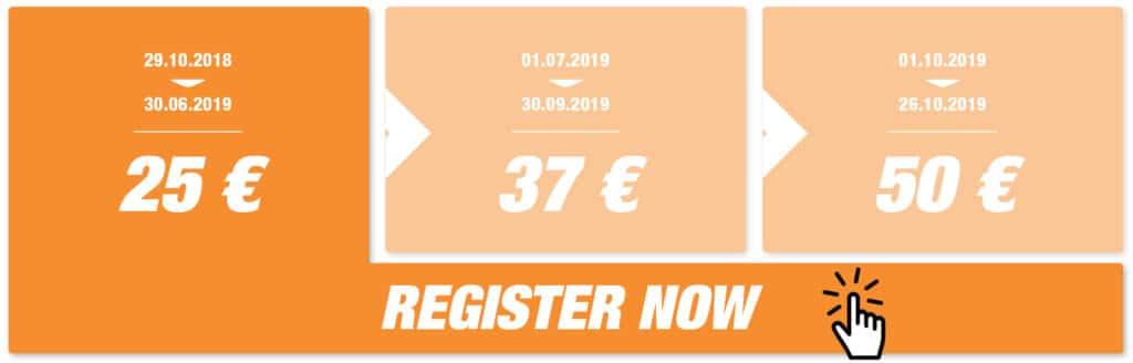 Registration Half Marathon Valencia 2019