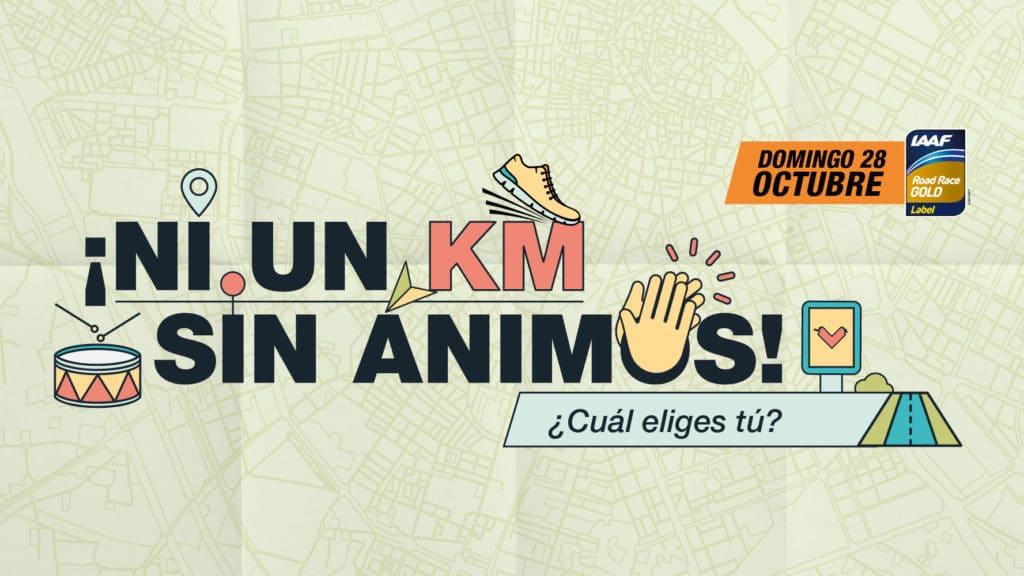 Ni un kilometro sin ánimos - Medio Maratón Valencia