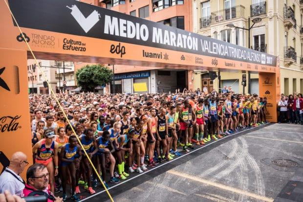 Salida Medio Maratón Valencia