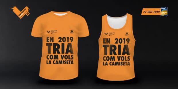 Camiseta Mitja Marato Valencia