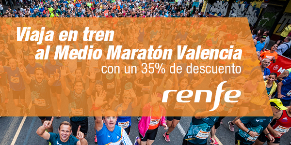 RENFE Rail Discounts for the Valencia Half Marathon 2018