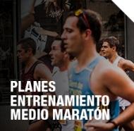 Planes entrenamiento medio maraton