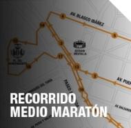 Recorrido medio maratón