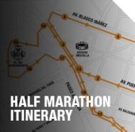 Half Marathon itinerary