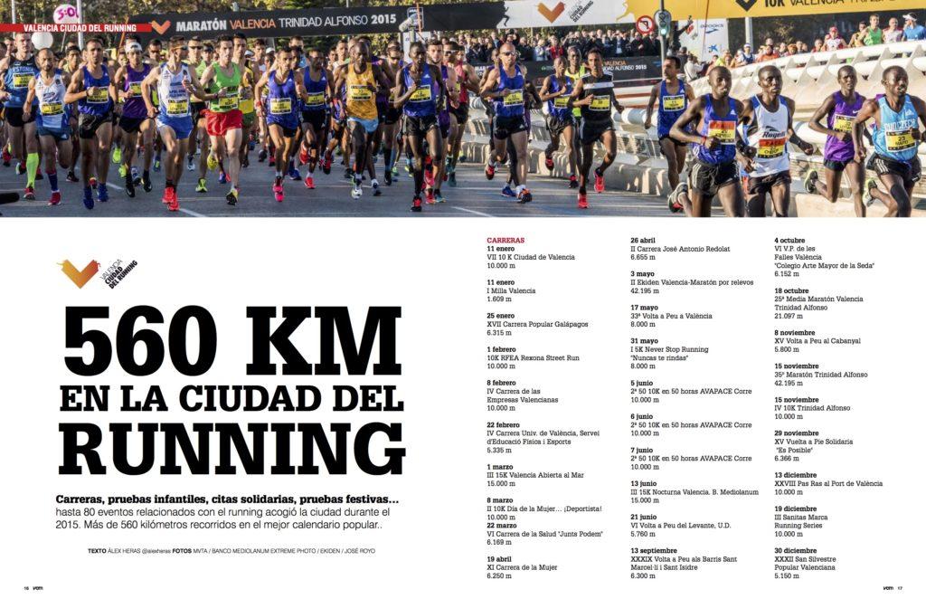 1f89cda3ffedb Más de 560 kilómetros recorridos en Valencia