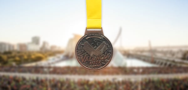 Medal for the 10-Kilometre Valencia Trinidad Alfonso Race 2018