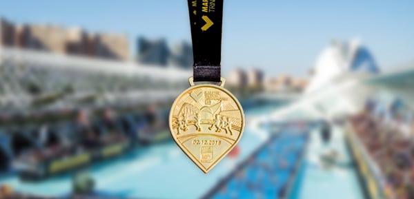Medalla Maratón Valencia 2018