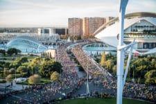 Salida Maraton Valencia 2018