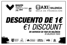 Marathon Discount for Valencia's Taxis