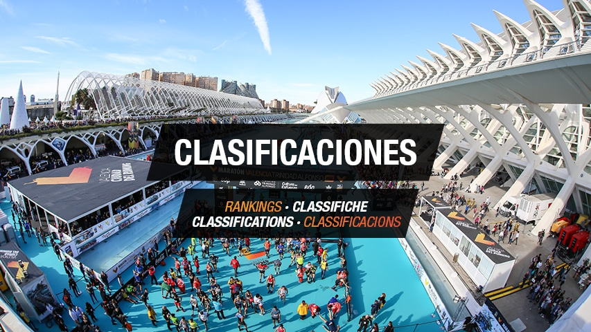 Clasificaciones Maraton Valencia