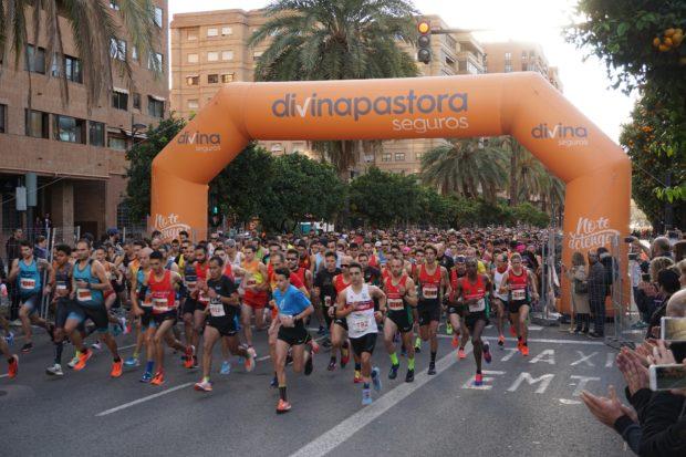Salida carrera Universitat de València