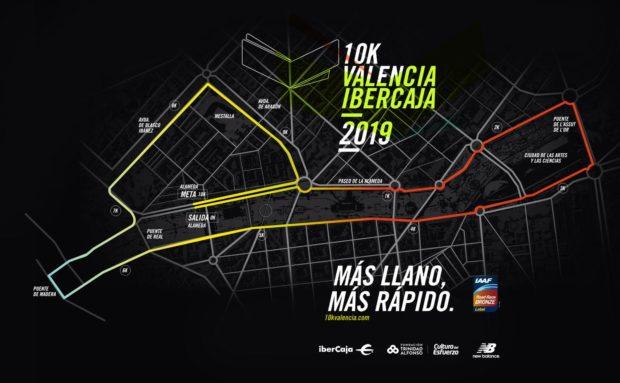 Recorrido 10K Valencia Ibercaja 2019