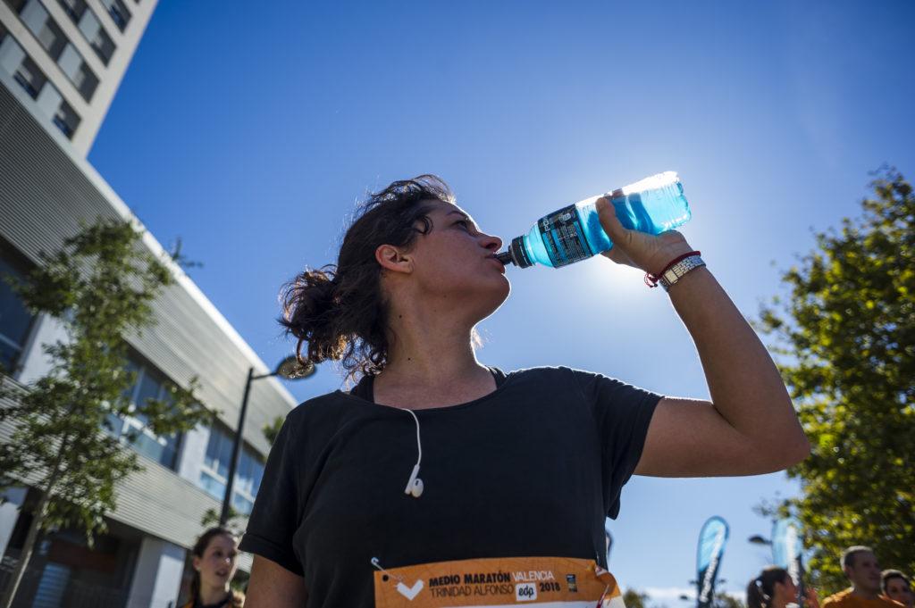Hidratación medio maratón