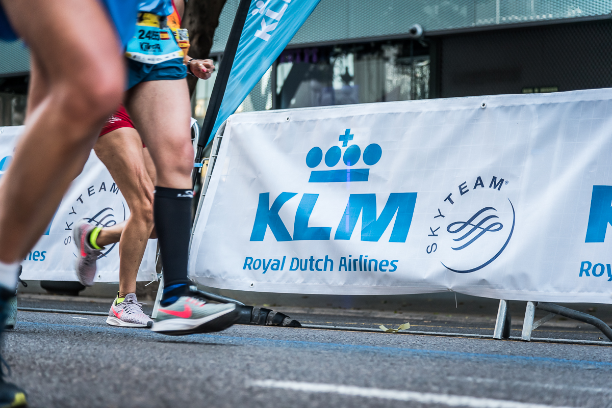 KLM, the Official Airline for the València Marathon and Half-Marathon