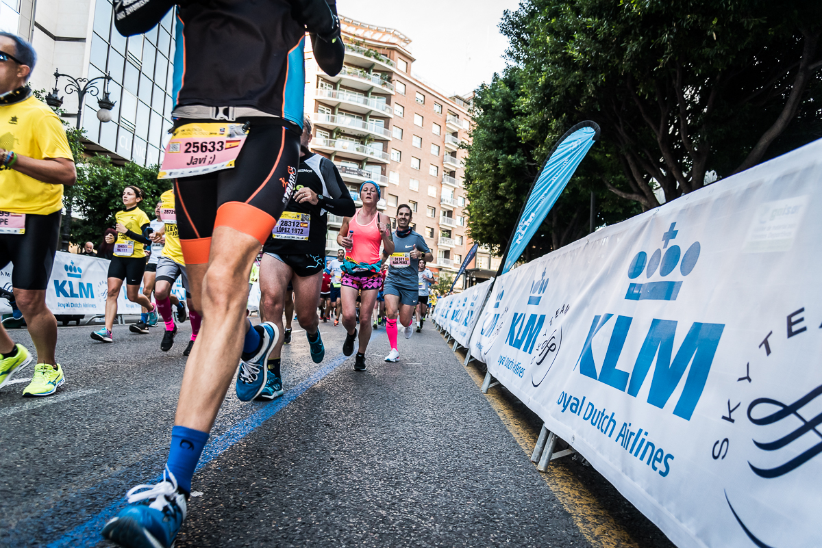KLM — the Official Airline for the València Marathon and Half-Marathon