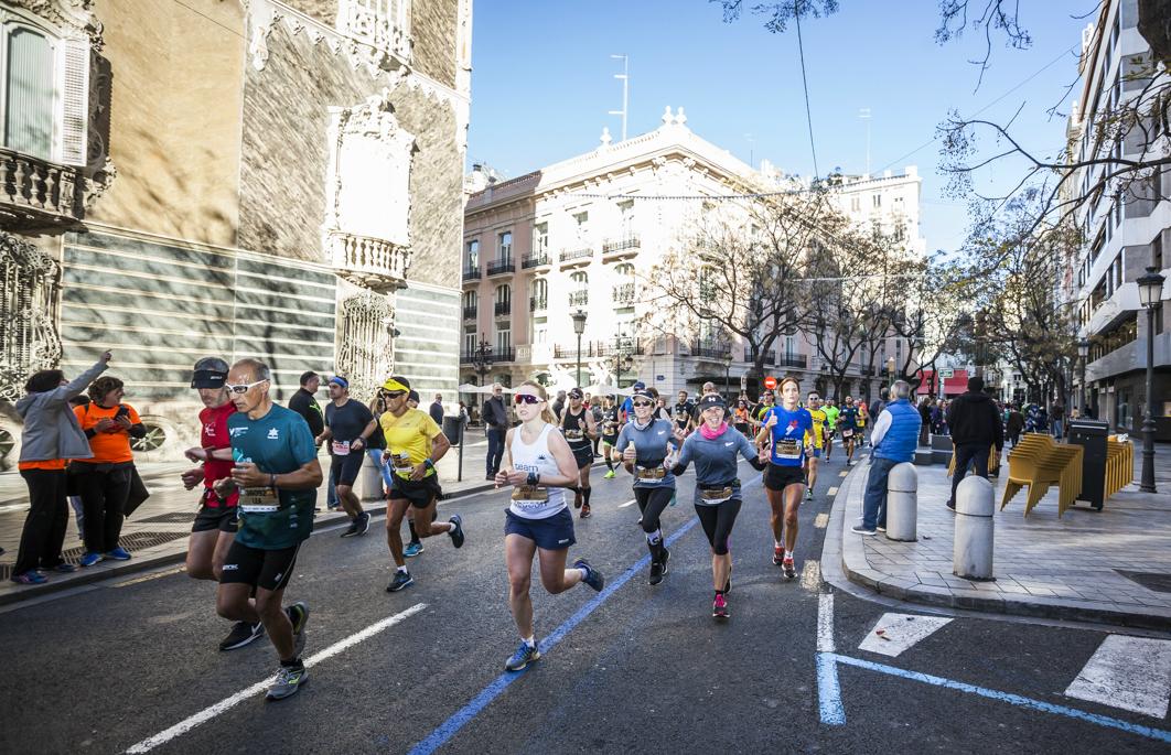 Etiqueta Platino Maraton Valencia