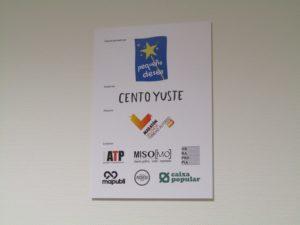 Placa Fundación Pequeño Deseo - Maratón Valencia