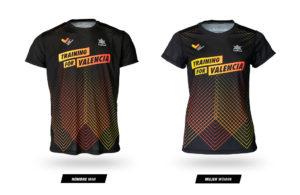 Camiseta Training for Valencia