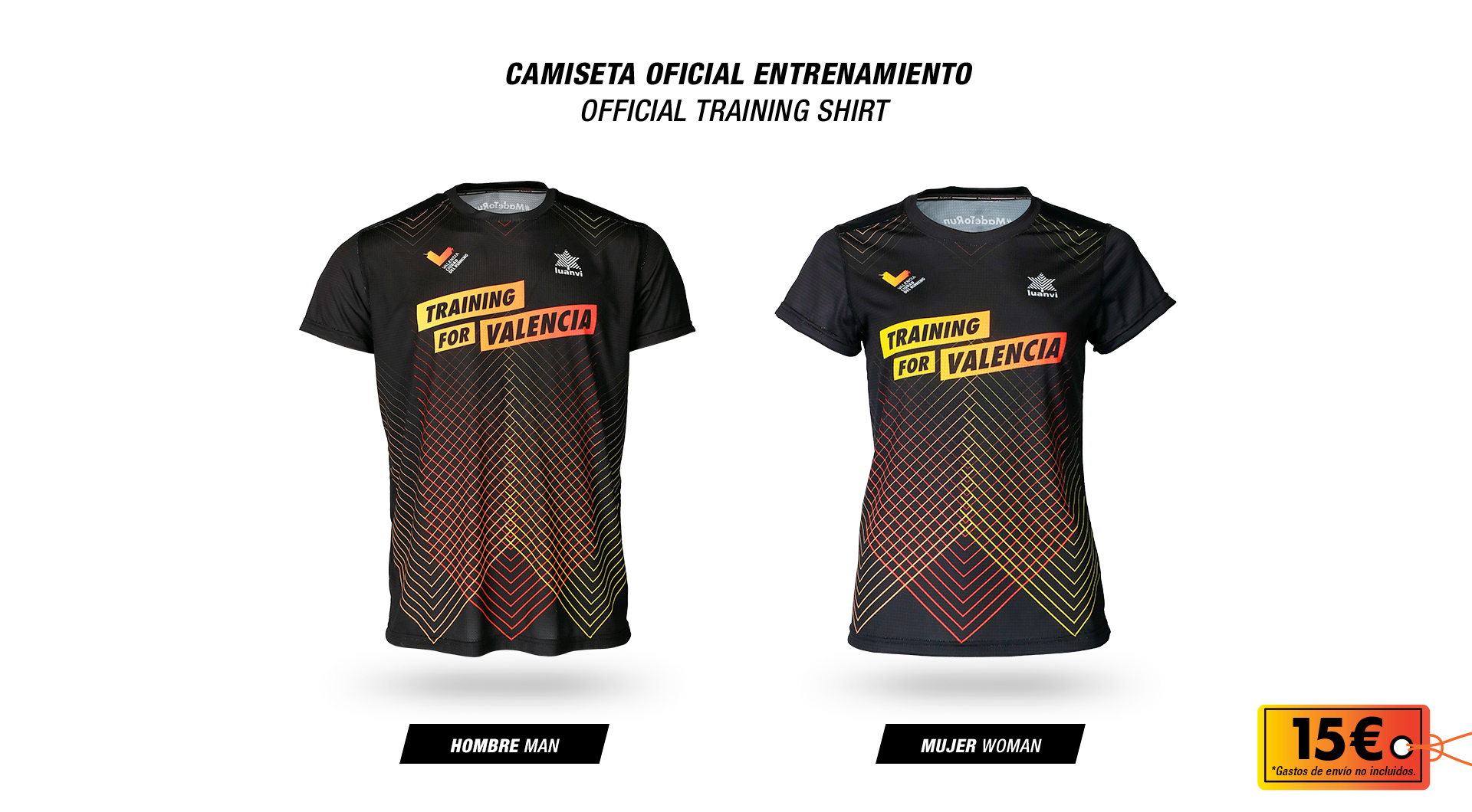 Camiseta Training for Valencia