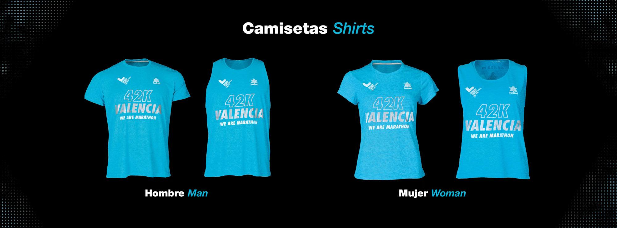 Camisetas Maratón Valencia 2019
