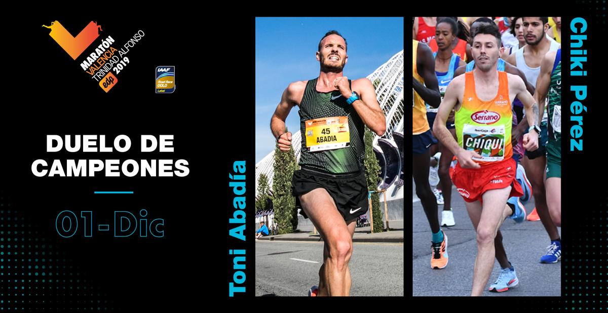 Maratón Valencia - Duelo-Campeones
