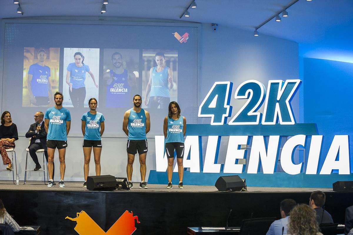 Camiseta Maratón Valencia 2019 reflectante