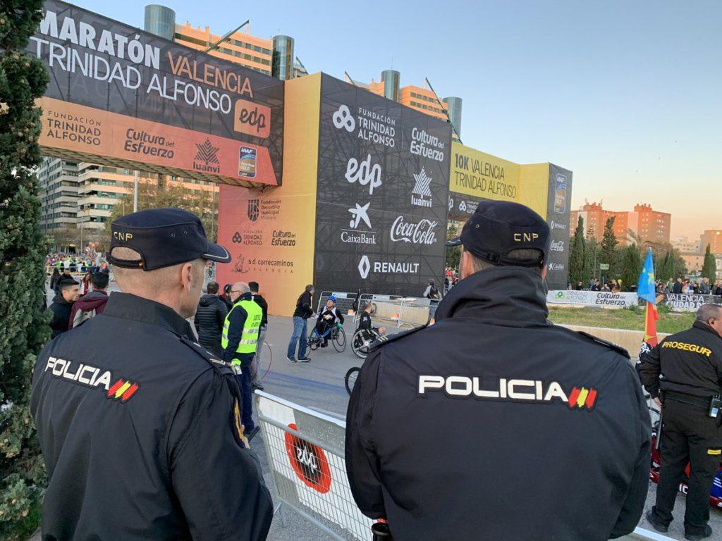 Policia Nacional Maratón Tramposos