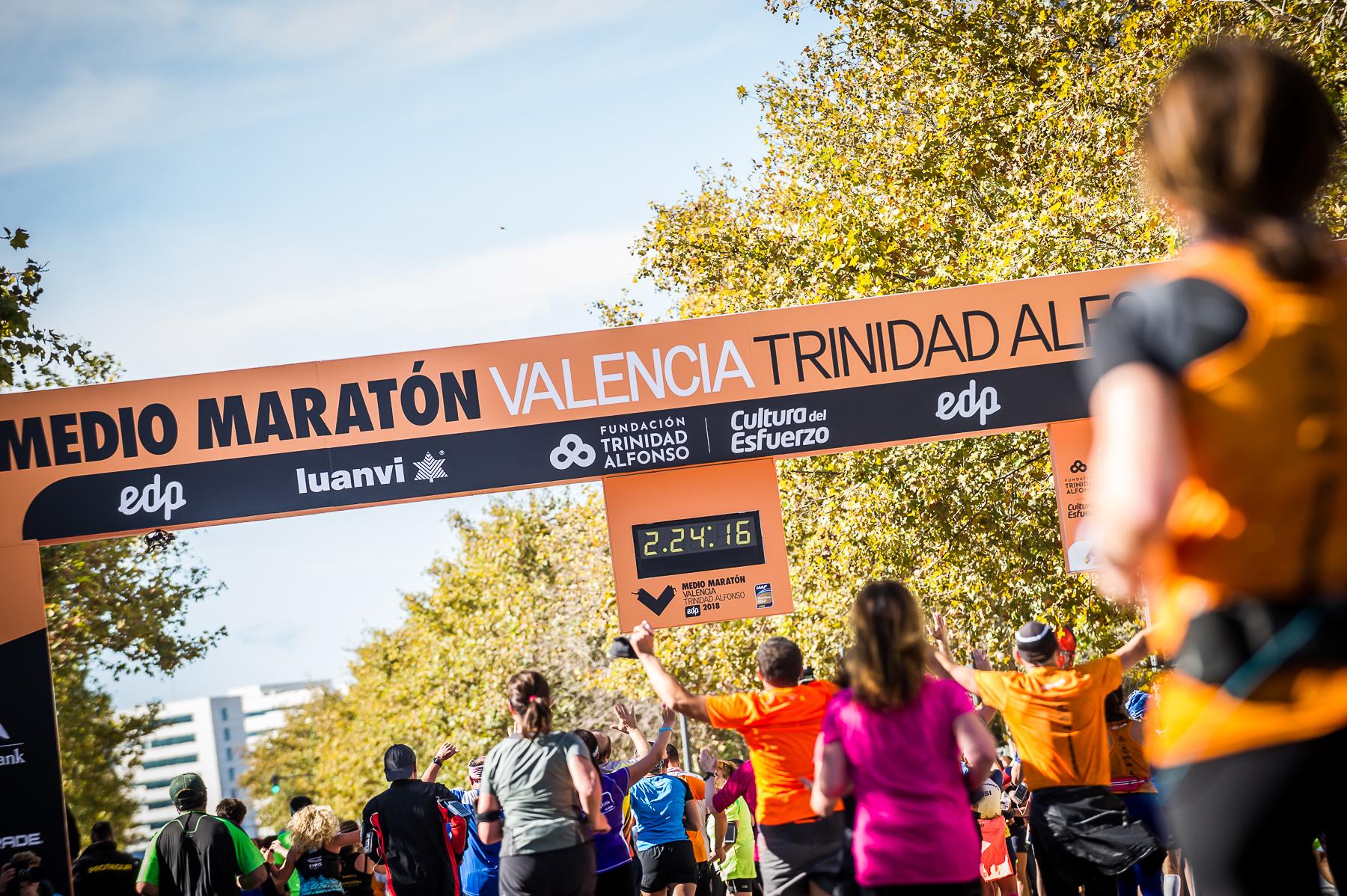 Meta Medio Maraton Valencia