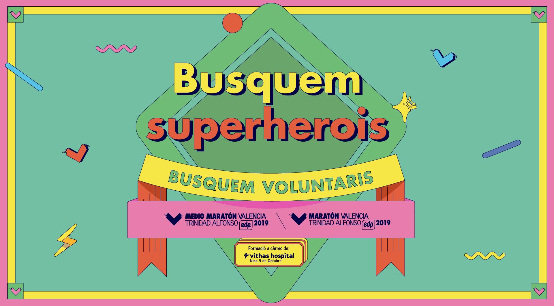 Busquem superherois - Busquem voluntaris