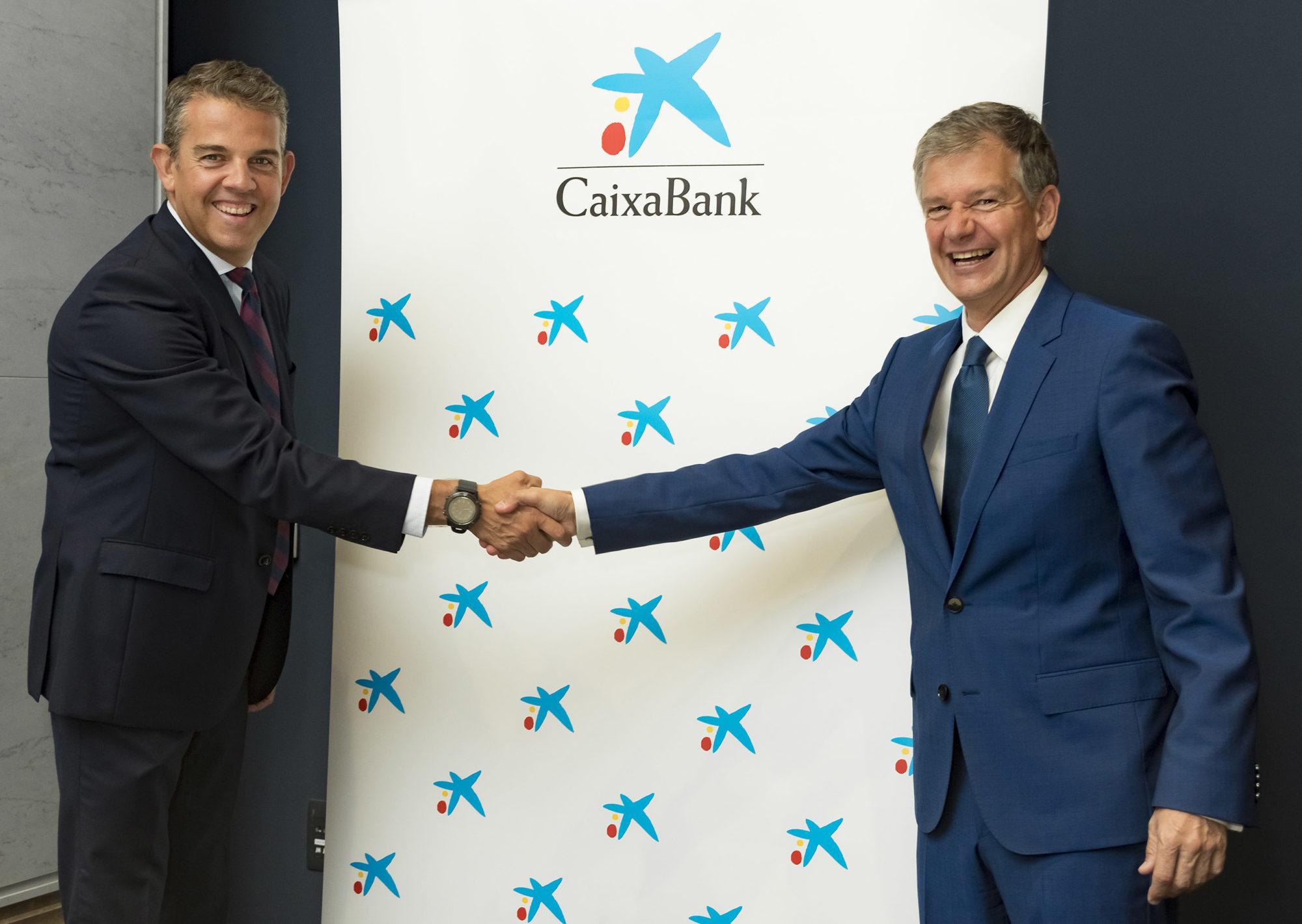 Firma acuerdo Caixabank - Maratón y Medio Maratón Valencia