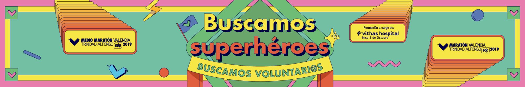 Voluntariado 2019 - Medio Maratón y Maratón Valencia