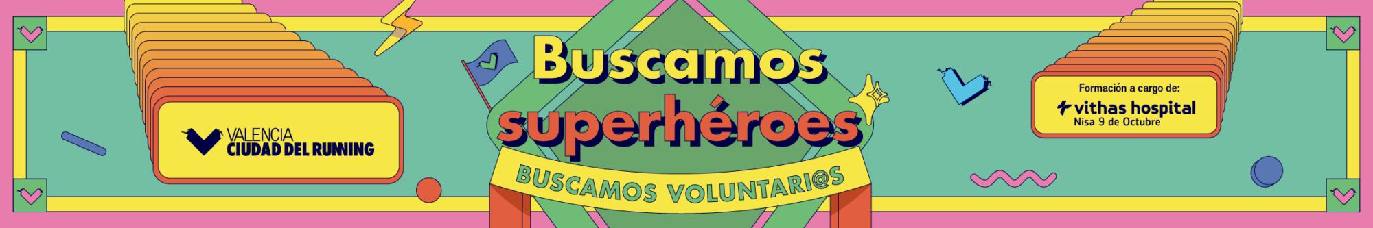 Buscamos superhéroes