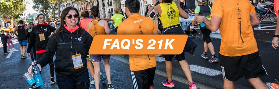 FAQs Voluntariado Medio Maratón Valencia