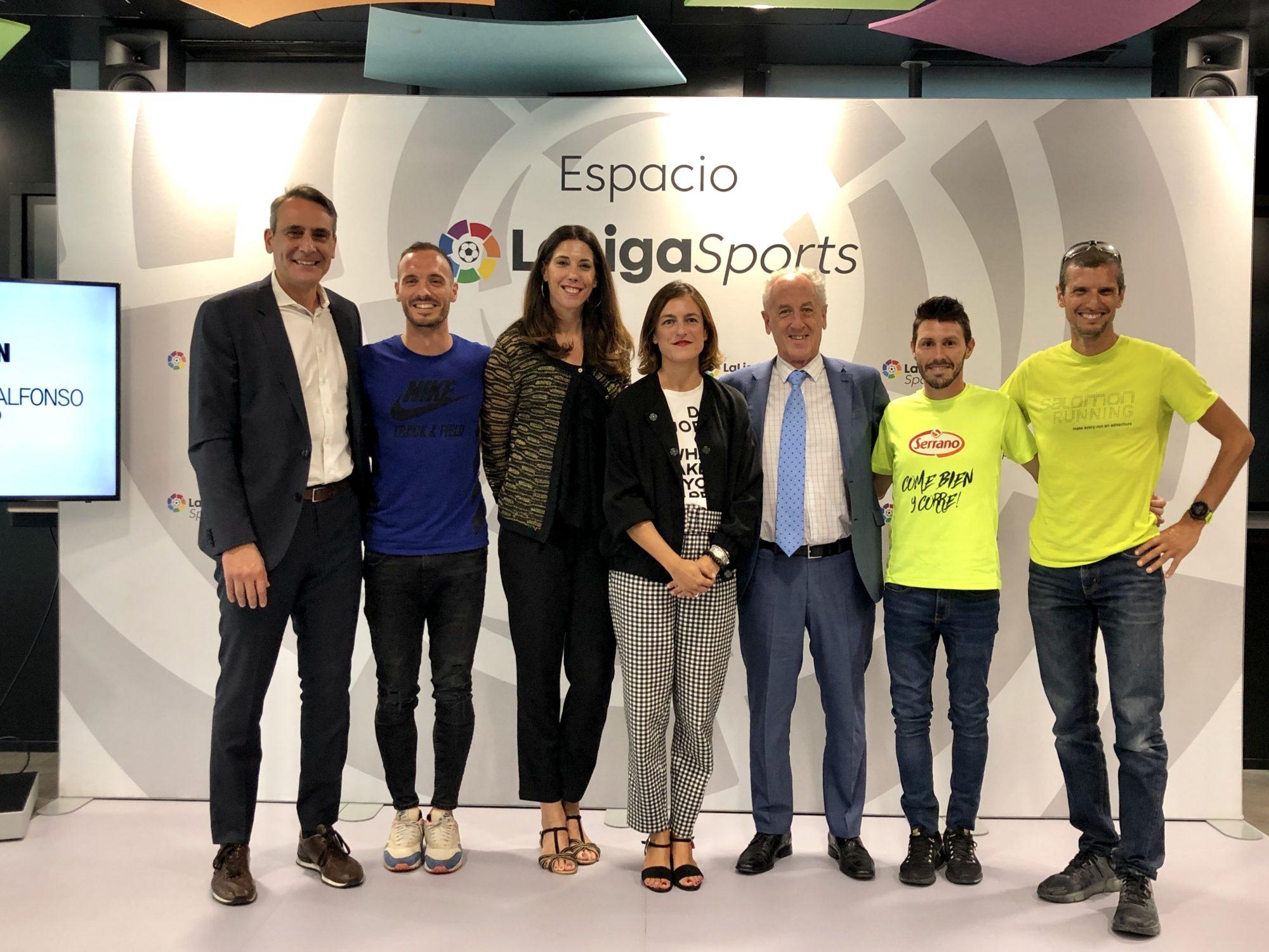 Acto LaLigaSports y Maraton Valencia