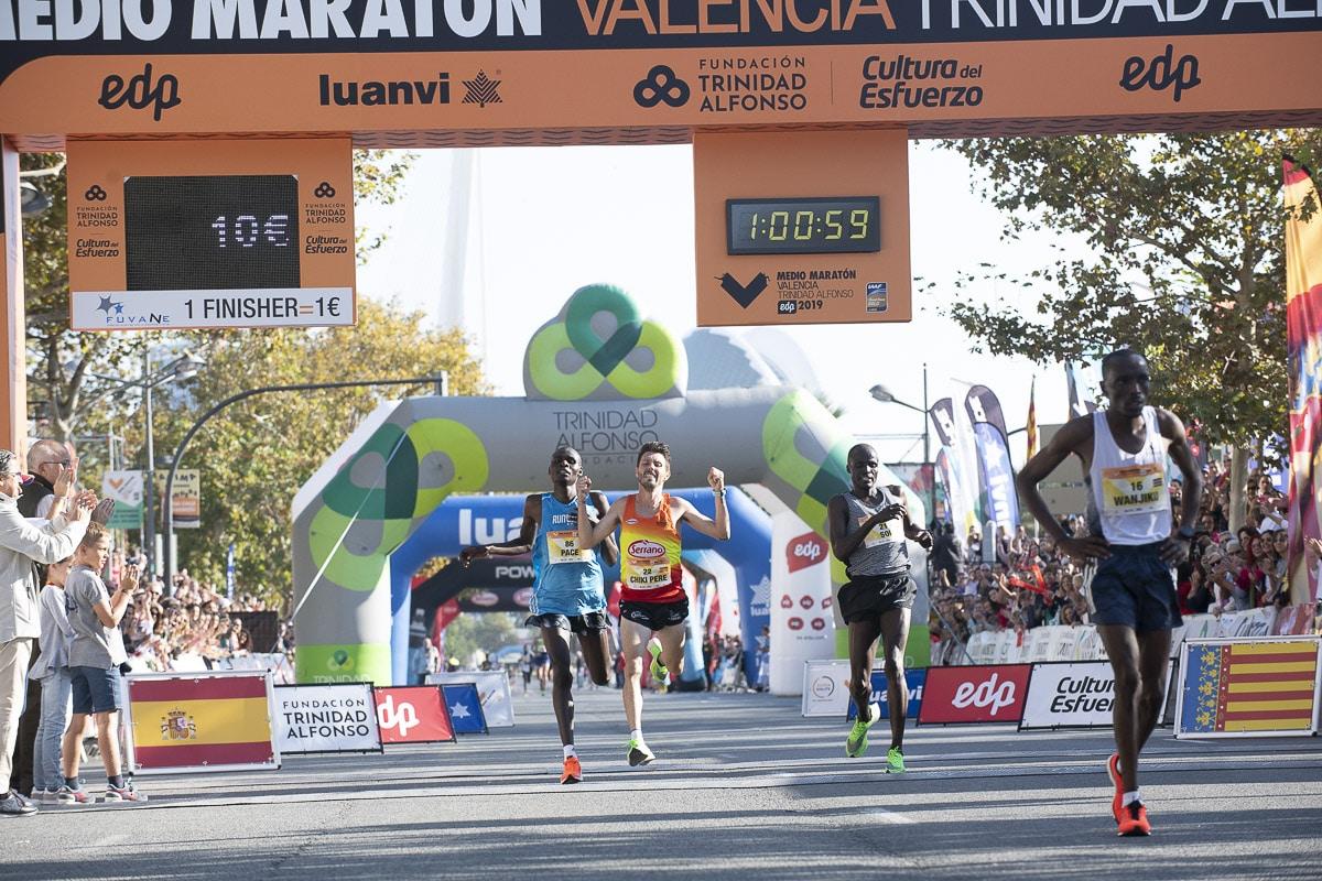 Chiki Perez - Medio Maratón Valencia Trinidad Alfonso EDP