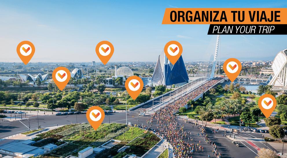 Organiza tu viaje - Medio Maratón Valencia 2020