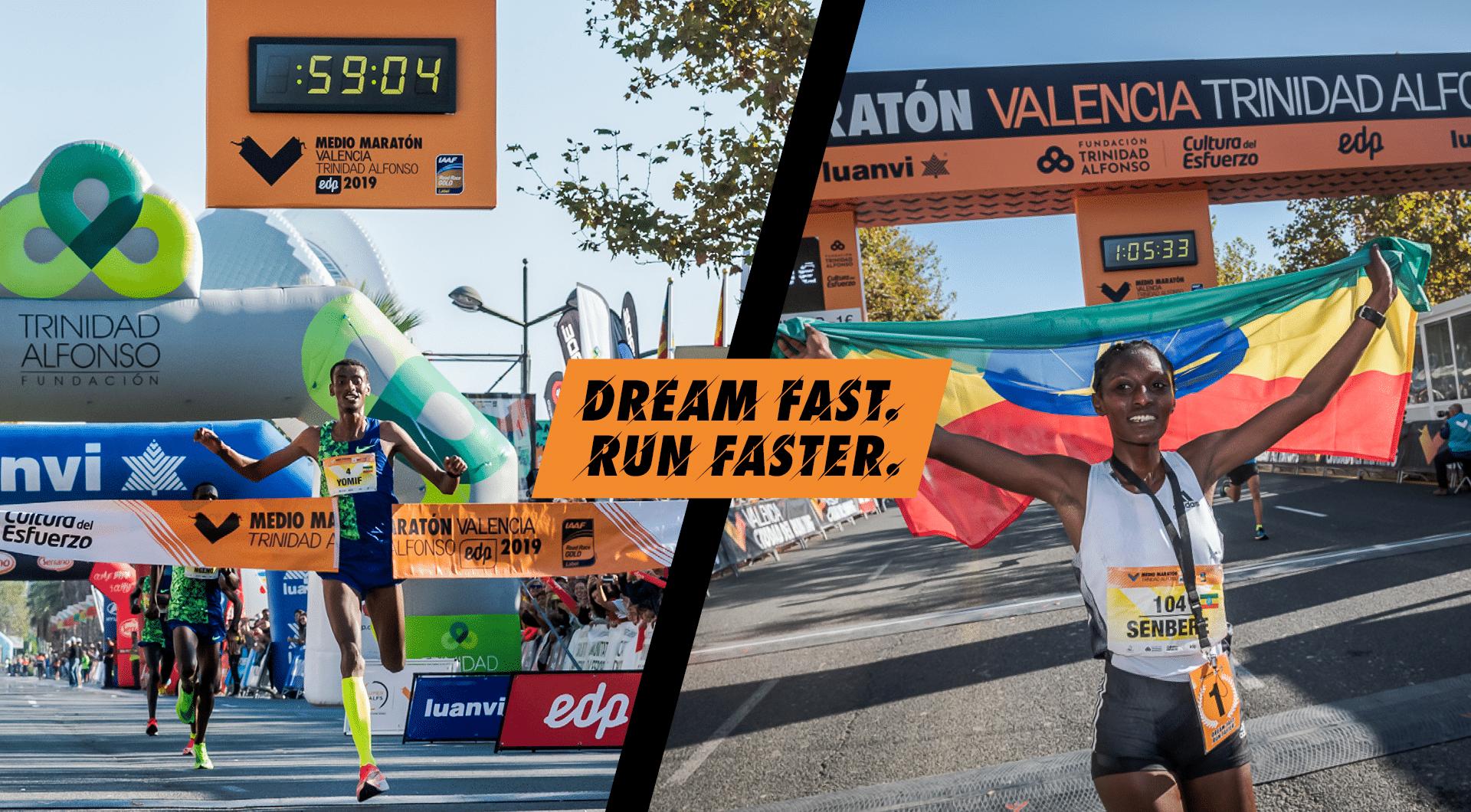 Ganadores Medio Maratón Valencia 2019
