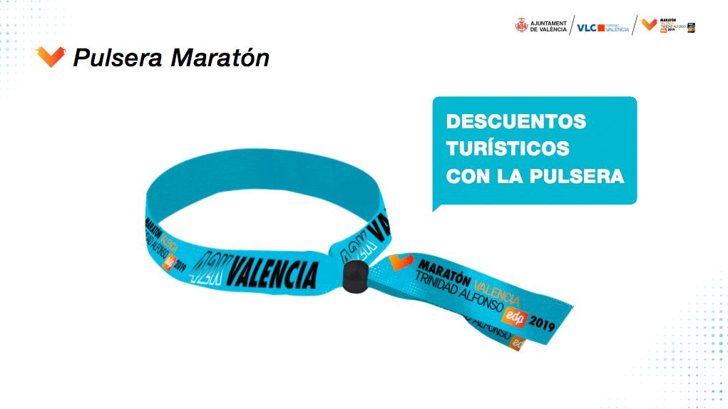 Pulsera Maratón Valencia