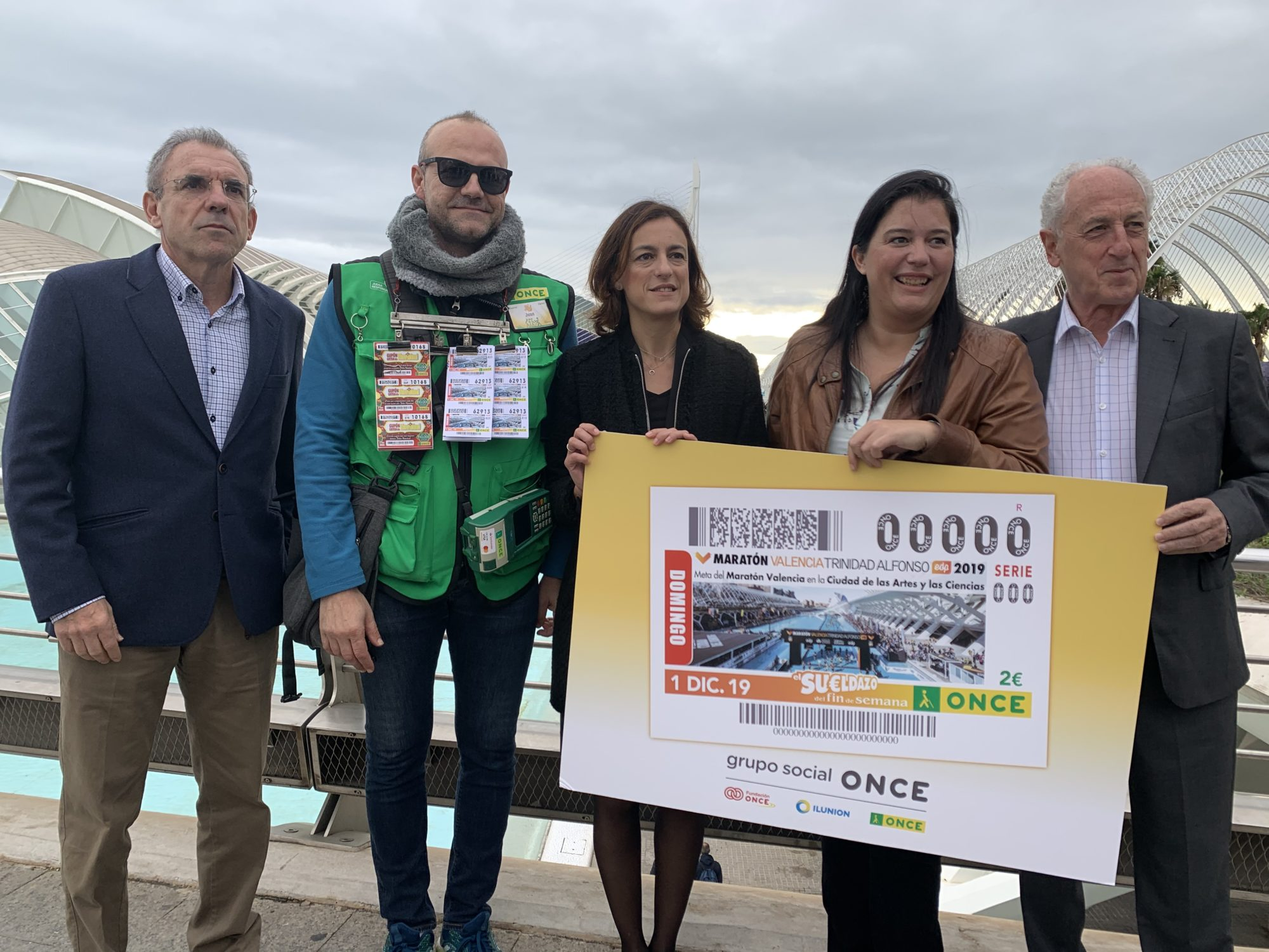 Cupon ONCE - Maratón Valencia 2019