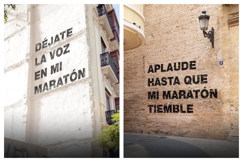Campaña concienciación Maratón Valencia 2019