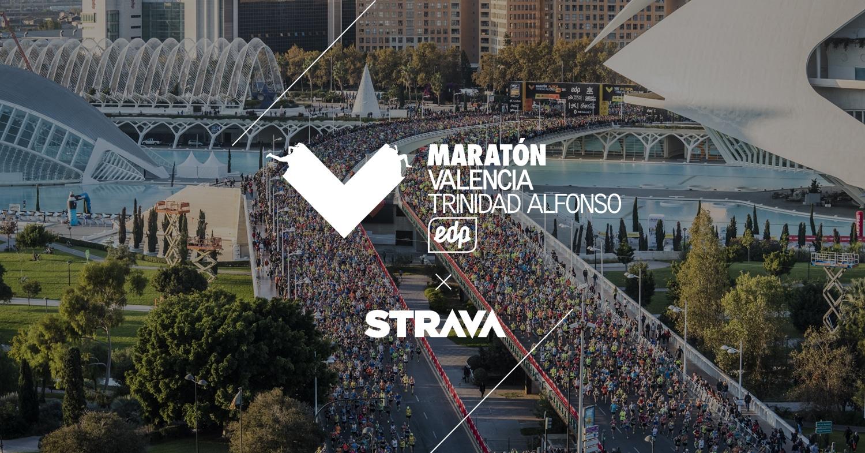 Strava Maratón Valencia 2019