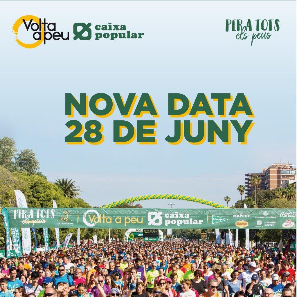 Nueva fecha Volta Peu