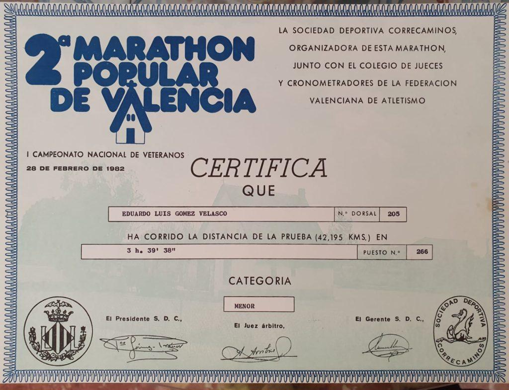 2 Marathon Popular Valencia
