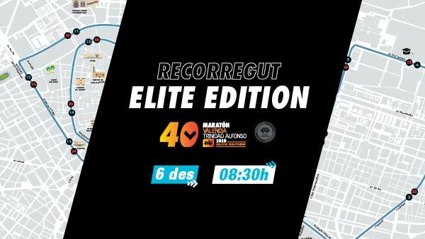 Recorregut Marato Valencia Elite Edition