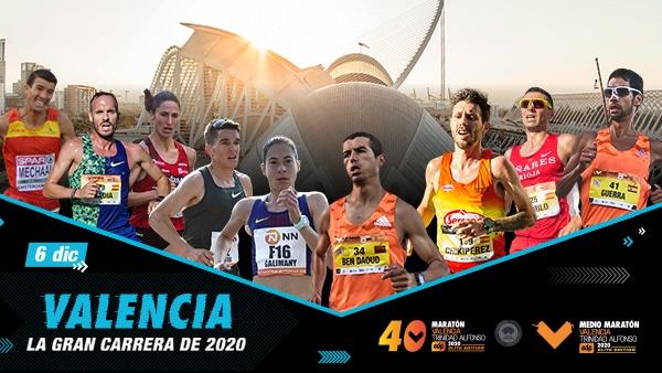 Elite Nacional Maratón Valencia 2020