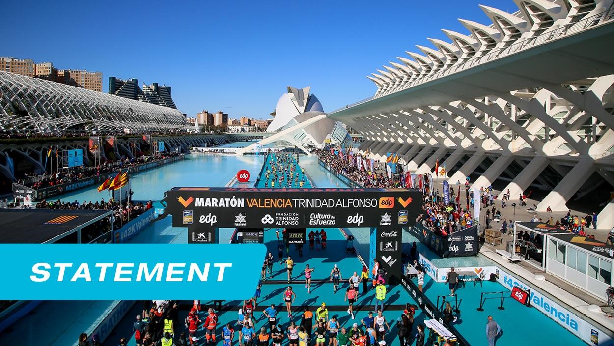 Statement - Valencia Marathon