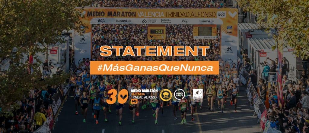 Statement - Valencia Half Marathon